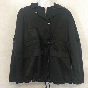 Banana Republic Black Coat Jacket Size Large
